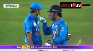 getlinkyoutube.com-Virat Kohli Attitude on Field!  Run OUT