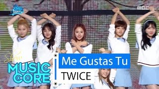 getlinkyoutube.com-[Special stage] TWICE - Me Gustas Tu, 트와이스 - 오늘부터 우리는 Show Music core 20160416