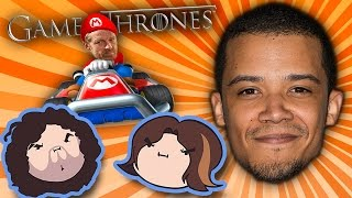 getlinkyoutube.com-Game of Thrones & Mario Kart With Special Guest Jacob Anderson - Guest Grumps