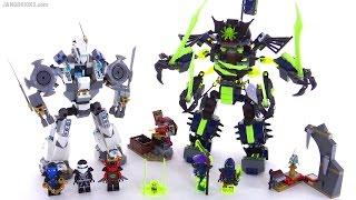 getlinkyoutube.com-LEGO Ninjago Titan Mech Battle review! set 70737