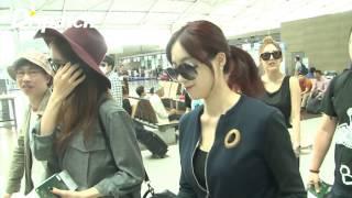 [Dispatch & IQIYI] 150618 T-ARA @ Incheon Airport heading to Nanjing