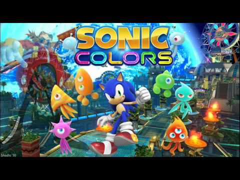 "Sonic Colors ""Tropical Resort Map"" Music"