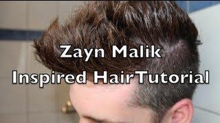 getlinkyoutube.com-Zayn Malik Hair Tutorial / ONE DIRECTION