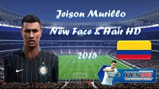 getlinkyoutube.com-New Best Face & Hair HD Jeison Murillo 15-16 - Colombia / Inter (Pes 2013)