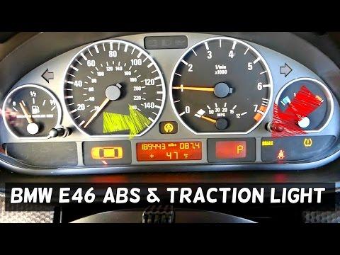 BMW E46 ABS TRACTION CONTROL LIGHT ON 316i 318i 320i 323i 325i 328i 330i 318d 320d 330d 330ci 325ci