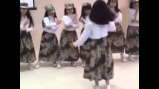 getlinkyoutube.com-رقص بنوتات سعوديات على شيلة عاصفة الحزم