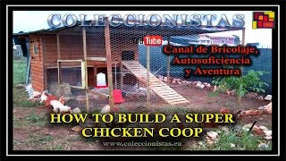 getlinkyoutube.com-How to build a super Chicken Coop - Design and Building