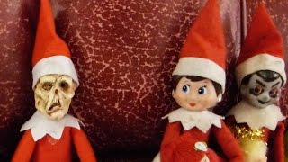 getlinkyoutube.com-The DEAD Elf on the Shelf!