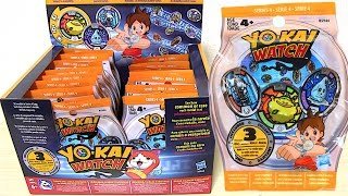 getlinkyoutube.com-しゅらコマきたー!US版 妖怪メダルシリーズ4〈22パック開封〉妖怪ウォッチ  Yo-kai Watch