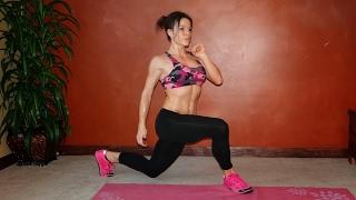 getlinkyoutube.com-12 Minute HIIT Chest, Core & Lower Body Burn