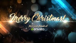 Christmas Greetings :: After Effects template
