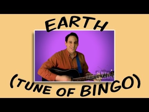 EARTH (tune of BINGO - Earth Day song for children)