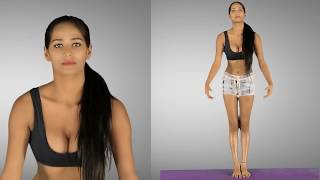Poonam Pandey Hot Yoga Moves