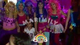 getlinkyoutube.com-SHOW INFANTIL - EQUESTRIA GIRLS - RAINBOW ROCKS - BATALLA DE LAS BANDAS - CON MARIMILY SHOW
