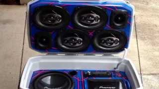 getlinkyoutube.com-Ice chest cooler sound stereo,exellent sound quality!!!!!!