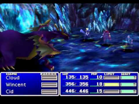 FFVII - L1NACNLBNC Challenge, Part 21: Icicle & Blue Dragon
