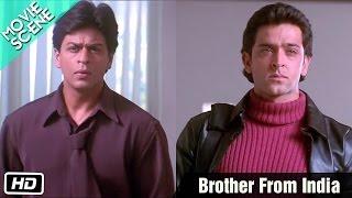 getlinkyoutube.com-Brother From India - Movie Scene - Kabhi Khushi Kabhie Gham - Shahrukh, Kareena, Hrithik
