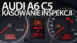 getlinkyoutube.com-Kasowanie inspekcji serwisowej w Audi A6 C5 (przegląd, wymiana oleju i filtrów, reset )