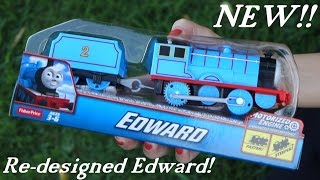 Unboxing the Newly Re-designed Trackmaster EDWARD - Thomas & Friends