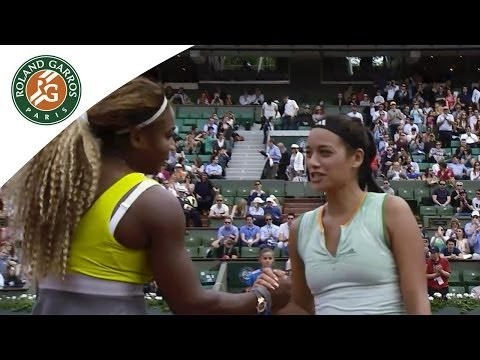 Serena Williams / A. Lim French Open Women's 1st Round Highlights