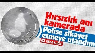 Sakarya'da hırsızlık anı kameralara yansıdı