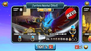 Monster Legends l Mazmorra Territorio Nebotus (Dificil) l Recompensa Monstruo Nebotus