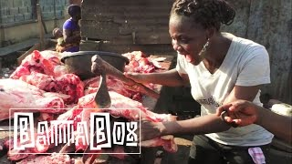 How to chop Cow-Head in Nigeria