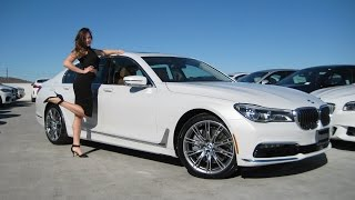 "getlinkyoutube.com-NEW BMW 750i with 20"" Individual Wheels / BMW 750xi Review / BMW 7 series"