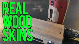 Real Wood Mod Skins from WUDbx.com