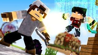 Minecraft: EGG WARS - O HACKER VOOU!