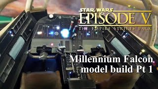getlinkyoutube.com-DeAgostini Millennium Falcon Customized Build Pt. 1 Cockpit Build