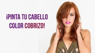 getlinkyoutube.com-Como pintar el Cabello color Cobrizo
