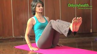 getlinkyoutube.com-Boat Pose  (Naukasana) - Yoga to reduce Belly Fat