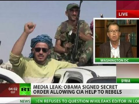 Leaked: Obama approved covert CIA support for Syria rebels
