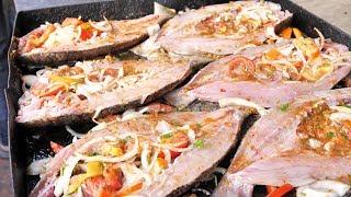 Egyptian Street Food - Seafood HEAVEN + Traditional Egyptian Food Adventure in Alexandria, Egypt! width=