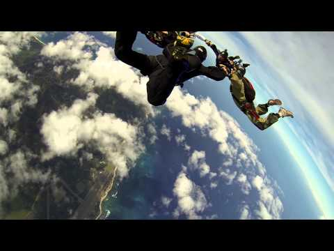 Skydiving in Paradise - November 2013 Jumps - GoPro Hero3 Edition