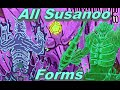All Susanoo Forms - itachi, Sasuke, Madara