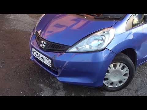 Кузовной ремонт Honda Fit. Часть 1