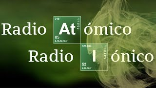 Imagen en miniatura para Radio atómico vs Radio iónico