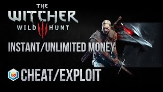 getlinkyoutube.com-The Witcher 3 Wild Hunt Instant/Infinite Money/Crowns Cheat/Exploit (Xbox One/PS4/PC)