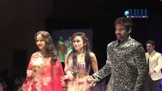 Fashion Designer Sanjana Jon Ramp walk with Lakshmi Manchu , Sumanth Akkineni