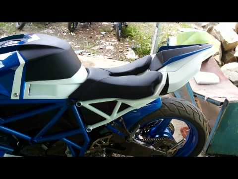Modifikasi yamaha vixion by Day's Custom
