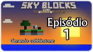 getlinkyoutube.com-Mine Blocks-Sky Blocks #1- Nova Série?
