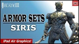getlinkyoutube.com-Infinity Blade 3: ALL ARMOR SETS FOR SIRIS! (Part 1)