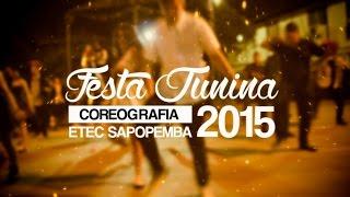 3º Ano C - Xote dos Milagres vs Uptown Funk (Festa Junina 2015, ETEC Sapopemba)