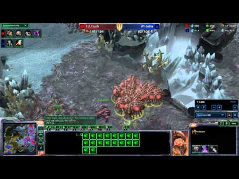 HOTS tt.WhiteRa v Quantic.Hyun Bo9 SHOWMATCH g9