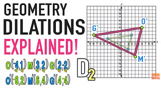 ☆ How Do I Dilate a Figure?   Common Core Geometry Transformations