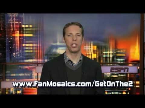 Brad Keselowski Nascar Fan Mosaic
