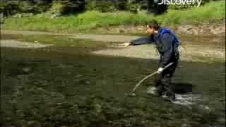 getlinkyoutube.com-Man vs. Wild - Alaska Fishing Salmon
