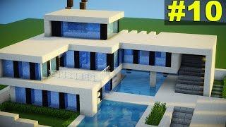 getlinkyoutube.com-Minecraft: Top 10 Casas Modernas (2016) - Download